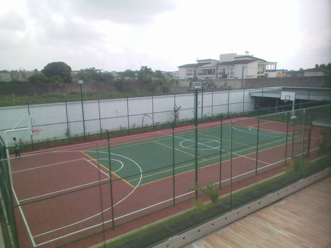 Fencing And Sports Spaces